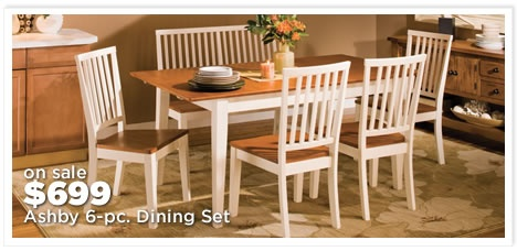 Ashby 6-pc. Dining Set