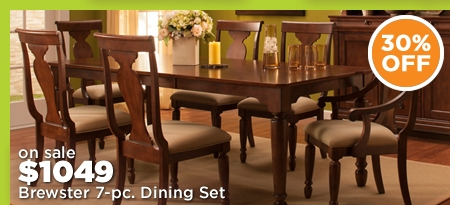 Brewster 7-pc. Dining Set
