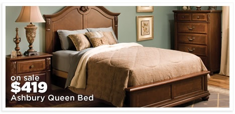Ashbury Queen Panel Bed