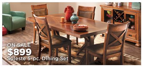 Soleste 5-pc. Dining Set