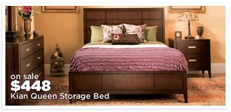 Kian Queen Storage Bed