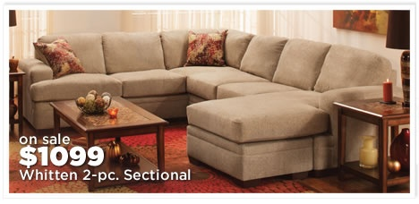 Whitten 2-pc. Sectional Sofa