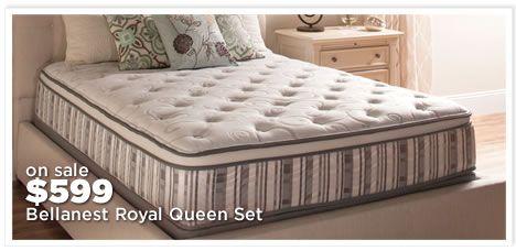 Bellanest Royal Queen Mattress Set