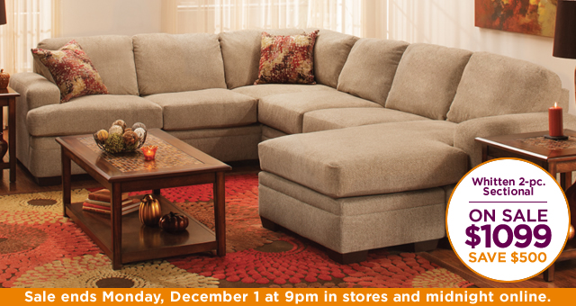 Whitten 2-pc. Sectional Sofa