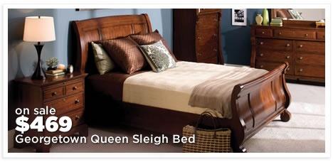 Georgetown Queen Sleigh Bed