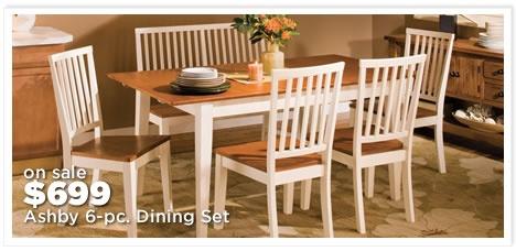Ashby 6-pc. Dining Set