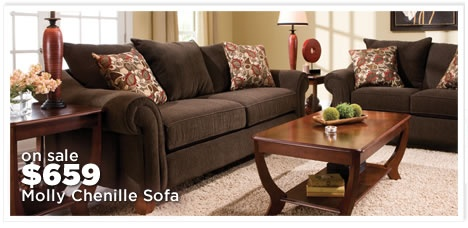 Molly Chenille Sofa