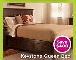 Keystone Queen Bed