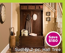 Sudley 2-pc. Hall Tree