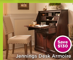 Jennings Desk Armoire