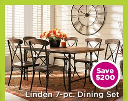 Linden 7-pc. Dining Set