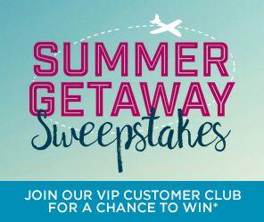 VIP Summer Getaway Sweepstakes