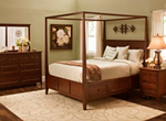 Westlake 4-pc. Queen Canopy Platform Bedroom Set w/ Storage Bed