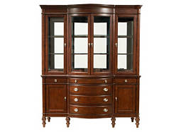 Elise 2-pc. China Cabinet w/ Lighting