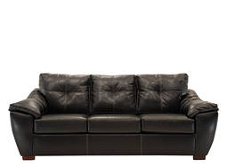 Marshall Bonded-Leather Sofa