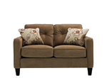 Lilly Microfiber Loveseat
