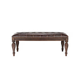 Belmont Leather Bench