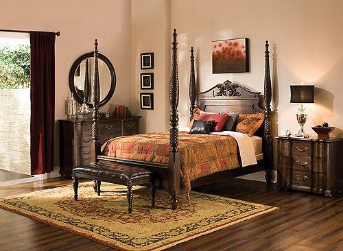 Belmont 4 Pc King Bedroom Set Bedroom Sets Raymour And Flanigan Furniture