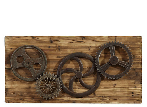 Industrial Gears Wall Decor Wall Art Raymour And