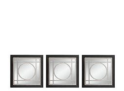 Gemini 3-pc.  Wall Mirror Set