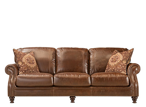 Fischer Leather Sofa Sofas Raymour And Flanigan Furniture