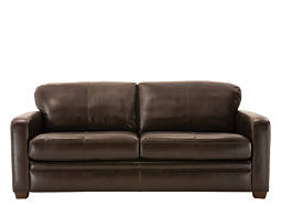 Trent Leather Queen Sleeper Sofa
