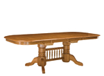 Sherwood Park Dining Table w/ Leaves