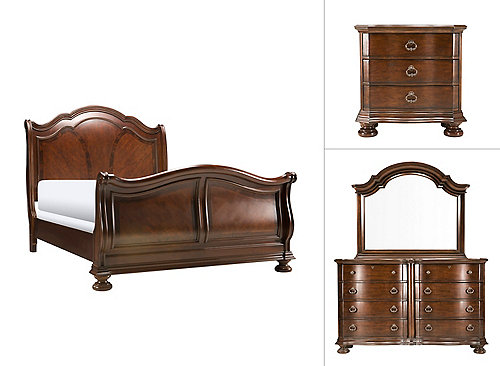 Pembrooke 4-pc. King Bedroom Set | Bedroom Sets | Raymour and Flanigan ...