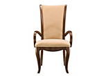 Keira Chenille Dining Armchair