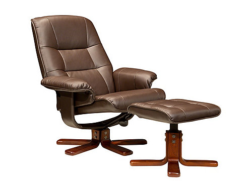 Carter Reclining Chair And Ottoman Recliners Raymour And Flanigan Furniture Mattresses