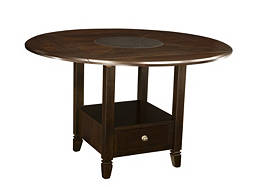 Northfield 2-pc. Drop-Leaf Counter-Height Dining Table w/ Storage