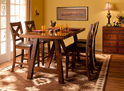 Royce 5-pc. Counter-Height Dining Set | Dining Sets ...