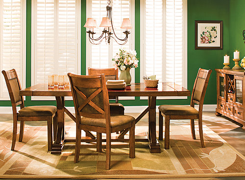 Soleste 5 Pc Dining Set Dining Sets Raymour And Flanigan Furniture