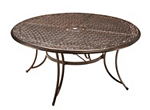 Cambria Round Outdoor Dining Table