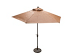 Cambria 2-pc. 9' Weave Umbrella and Base