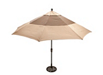 Cambria 11' 2-Toned Umbrella
