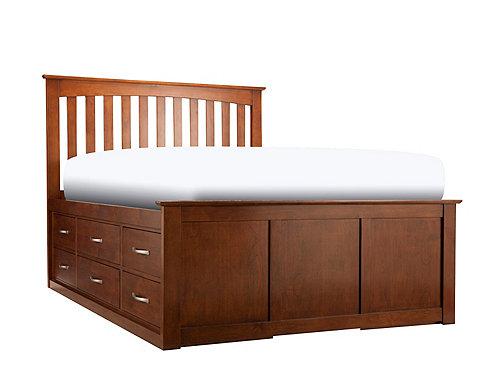 Everitt Queen Storage Platform Bed