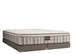 Royal Super Plush Euro Top Low-Profile King Mattress Set
