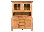 Attic Heirlooms 2-pc. China Cabinet w/ Lighting