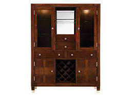 Northern Lights Dining Chest w/ Lighting and Wine Storage