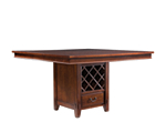 Vantana Counter-Height Dining Table w/ Leaf and Storage