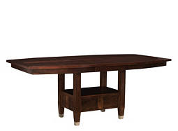 Northern Lights Dining Table w/ Leaf and Storage