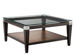 Dunhill Glass Coffee Table