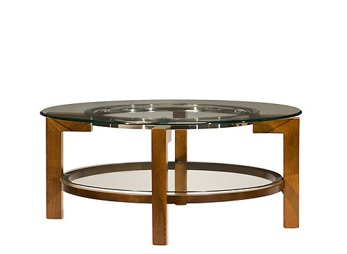 Alex Glass Top Round Coffee Table Coffee Tables Raymour And Flanigan Furniture