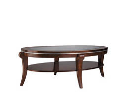 Ashland Heights Glass Coffee Table