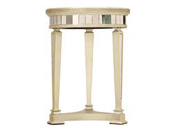 Kira Mirrored Accent Table