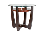 Elation Glass End Table