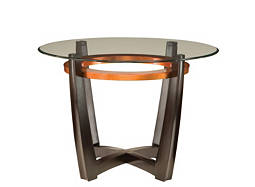 "Elation 42"" Glass Dining Table"