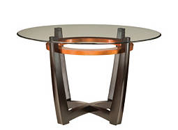 "Elation 48"" Glass Dining Table"