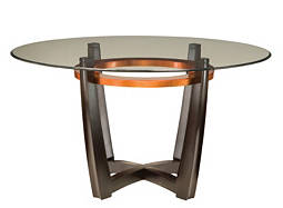 "Elation 54"" Glass Dining Table"